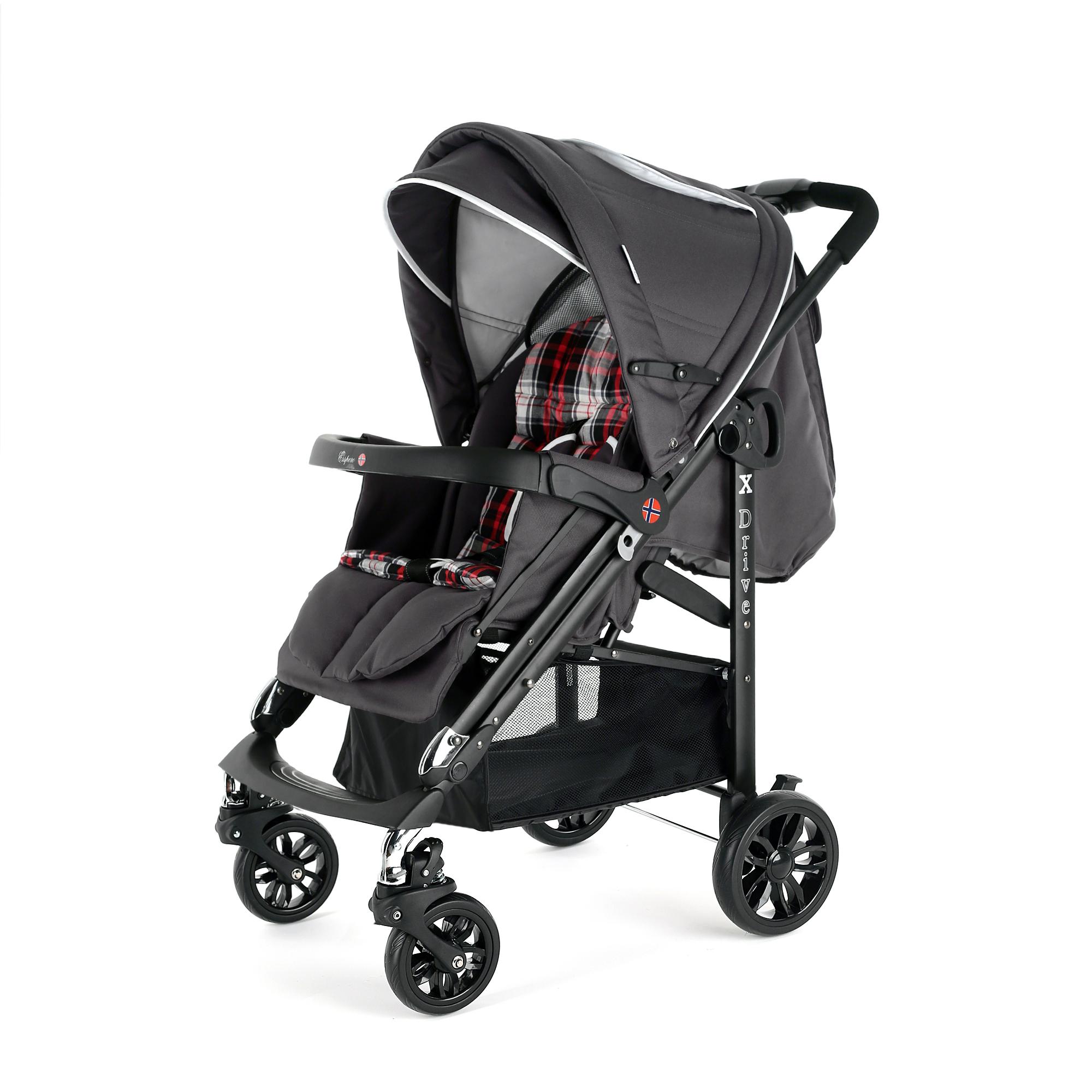Детская прогулочная коляска Esspero X-Drive Crimson