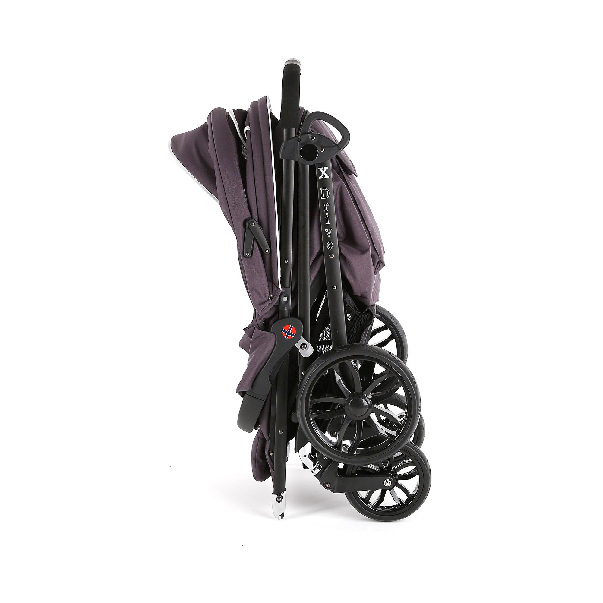 Детская прогулочная коляска Esspero X-Drive Coral Black