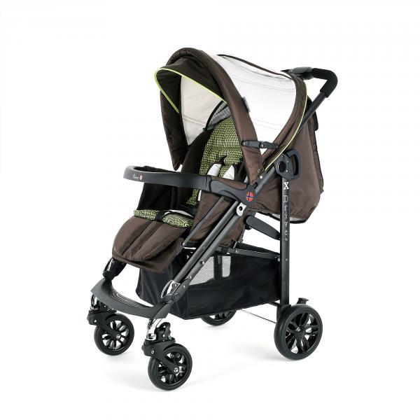 Детская прогулочная коляска Esspero X-Drive Amber Black