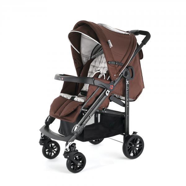 Детская прогулочная коляска Esspero X-Drive Pearl Checker